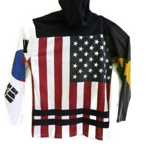 10Deep VCTRY MCMXCV Hoodie Patriotic Flag 2X XXL